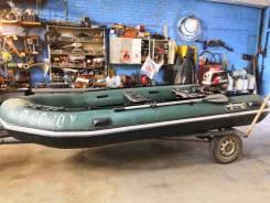 Продам лодку shturman 420 с мотором сузуки 30