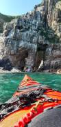 Аренда двухместного морского каяка. 2 человека, 20км/ч