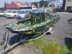 Казанка-6М. 2016 год год, двигатель без двигателя
