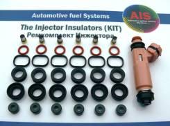 Ремкомплект на 6 инжекторов (1-3MZFE) =Toyota 23209-20030, 23250-0A020