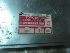 Блок управления двигателем 4SFE 89661-20822 Toyota Corona 170