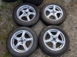 """Зимние колёса Bridgestone Blizzak Revo GZ 175/65R15. 5.5x15"""" 4x100.00 ET52 ЦО 73,1мм."""