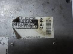Блок управления двигателем 4E-FE 89661-16590 Toyota Corsa 51