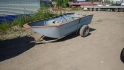 Продам лодку самодельно-клёпанная. Длина 3400, ширина 1500