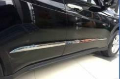 Хром молдинги на дверь Honda Vezel 2013 +