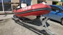 """Лодка """"RIB"""" Zodiac PRO 9 MAN + лодочный мотор Suzuki DF50TL + прицеп"""