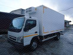 Mitsubishi Fuso Canter. Автофургон рефрижератор Fuso Canter с ХОУ Dongin Thermo DM-500HN, 4х2, 2 998 куб. см., 4x2