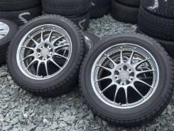 """Японские Кованные WORK XSA на резине 215/55/17 Bridgestone VRX 2017г. 7.0x17"""" 5x114.30 ET38 ЦО 73,0мм."""