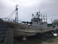 Продам рыболовную шхуну