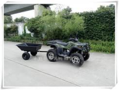 Прицеп, самосвал (тележка) для квадроцикла ATV. Г/п: 300кг. Под заказ