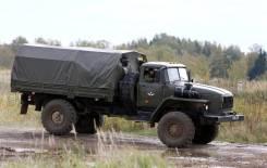 Урал. Армейский УРАЛ двухмостовый, 6 000кг.