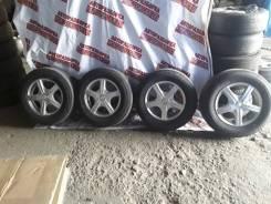 """Комплект колёс Bridgestone 205/70 R15. x15"""" 4x100.00, 4x114.30"""