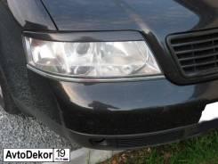 Реснички (накладки) на фары Audi A6 (Ауди) 1997-2004г