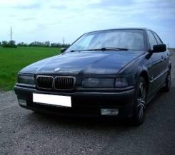 Верхние реснички (накладки) на фары BMW 3 E36 (БМВ) 1990-2000г