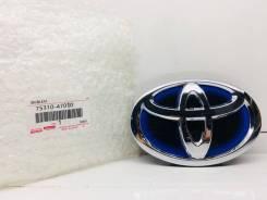 Эмблема решетки. Toyota: Prius a, Camry, Prius, Avalon, Prius v, iQ, EQ EV, Highlander 2ARFXE, 2ZRFXE, EM, 4ARFXE, 5ZRFXE, 2GRFXE