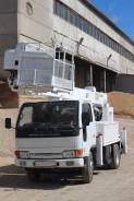 Aichi SH140. Автовышка 16 метров Nissan Diesel , 4 300куб. см., 16,00м.