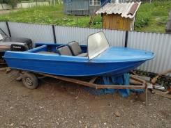 Продам алюминивую лодку