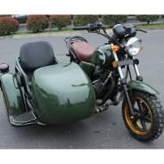 Мотоцикл ретро трехколесный NDV-9457