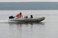 Лодка пвх 420 +мотор 25 лс