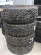 Bridgestone Dueler A/T. грязь at, 2007 год, б/у, износ 10%