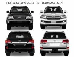 Рестайлинг GBT Toyota Land Cruiser 200 07-15 в 2016+
