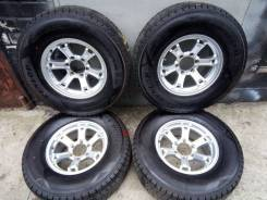 """Колеса на зимней резине 265/70R16 Dunlop Winter Maxx SJ8. 7.0x16"""" 6x139.70 ET5 ЦО 110,0мм."""