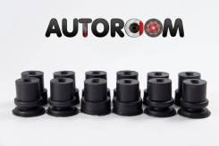 Подушка кузова. Mitsubishi: Pajero, Nativa, Montero, Montero Sport, Challenger, Pajero Sport, 1/2T Truck 4D55, 4D56, 4G54, 4G64, 4M40, 6G72, 6G74, G63...