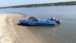Продам лодку Обь-3 с мотором Yamaha 40 XWS 2007г. в.