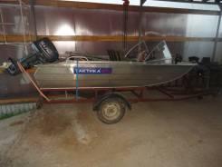 Моторная лодка Тактика 370.