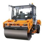 Завод ДМ DM-13-VC. Каток дорожный комбинированный вибрационный самоходный DМ-13-VC