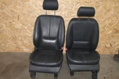 Салон Mercedes-Benz w163 ML черная кожа