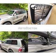 Багажник металлический цельносварной с креплениями за релинги 160x120