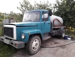 ГАЗ 3307. Ассенизатор, 4 250куб. см.