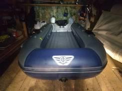 Продам надувную лодку с туннелем под водомет