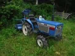 Iseki. Трактор 17лс, 4wd, фреза, вом, навеска на 3 точки, 17 л.с.