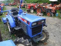 Iseki. Трактор 15лс, 3 цилиндра, 4wd, фреза, вом, 15 л.с.