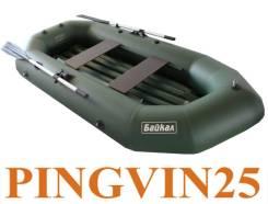 Лодка гребная Байкал 260 НД в магазине Pingvin25