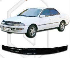 Дефлектор капота. Toyota Carina, AT190, AT191, AT192, CT190, CT195, ST190, ST195 2C, 3SFE, 4AFE, 4SFE, 5AFE, 7AFE, 2CL