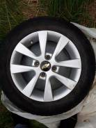 "Продам комплект колёс, от шеврале авео орининал. 5.5x14"" 4x100.00 ET-48 ЦО 45,0мм."