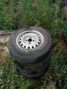 """Продам колеса (штамповка) шины Falken 165/80 R13 в Новосибирске. x13"""""""