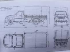 УАЗ Профи. Продается грузовик уаз профи, 2 700куб. см., 1 500кг., 4x2