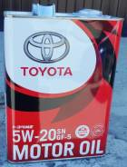 Toyota Motor Oil SN/GF-5 5W20 4л. 08880-10605