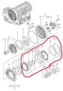 Диск фрикционный. Volkswagen Passat, 3B2, 3B3, 3B5, 3B6 Volkswagen Phaeton, 3D2, 3D8 Audi: A6 allroad quattro, A8, S6, A4, A6, S8, S4 Skoda Superb Дви...