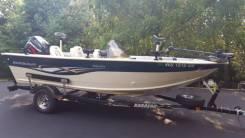 Моторная лодка Smoker Craft производства США 2007 г. в.