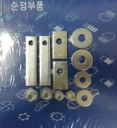 Закладные (комплект) защиты двигателя Hyundai / Kia