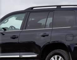 Хром молдинги под стекла Toyota Land Cruiser (J200) 07-15год