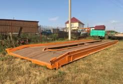 172 ЦАРЗ. Платформа автоприцепа 12 м.