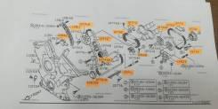 Цепь ГРМ. Suzuki Escudo, TDA4W, TD94W, TA74W, TDB4W, TD54W, TA02W, TA11W, TA31W, TA51W, TA52W, TD02W, TD11W, TD31W, TD32W, TD51W, TD52W, TD61W, TD62W...