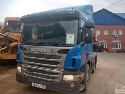 Scania P400. Грузовой тягач седельный Scania P 400
