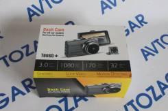 Видеорегистратор (Регистратор)1080 Full HD Dash Cam T666G корпус метал